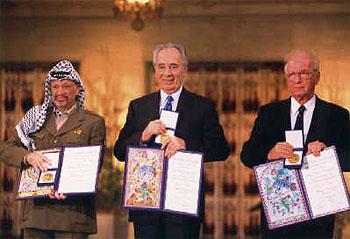 Arafat Nobel disgrace (1994)